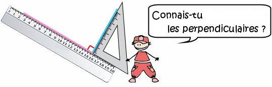 Cours de maths les perpendiculaires - Assembler deux planches angle droit ...