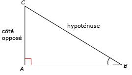 comment trouver le 3eme cote d un triangle non rectangle