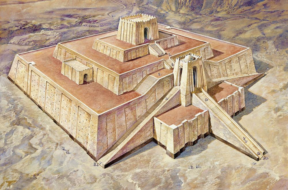 how to build a ziggurat
