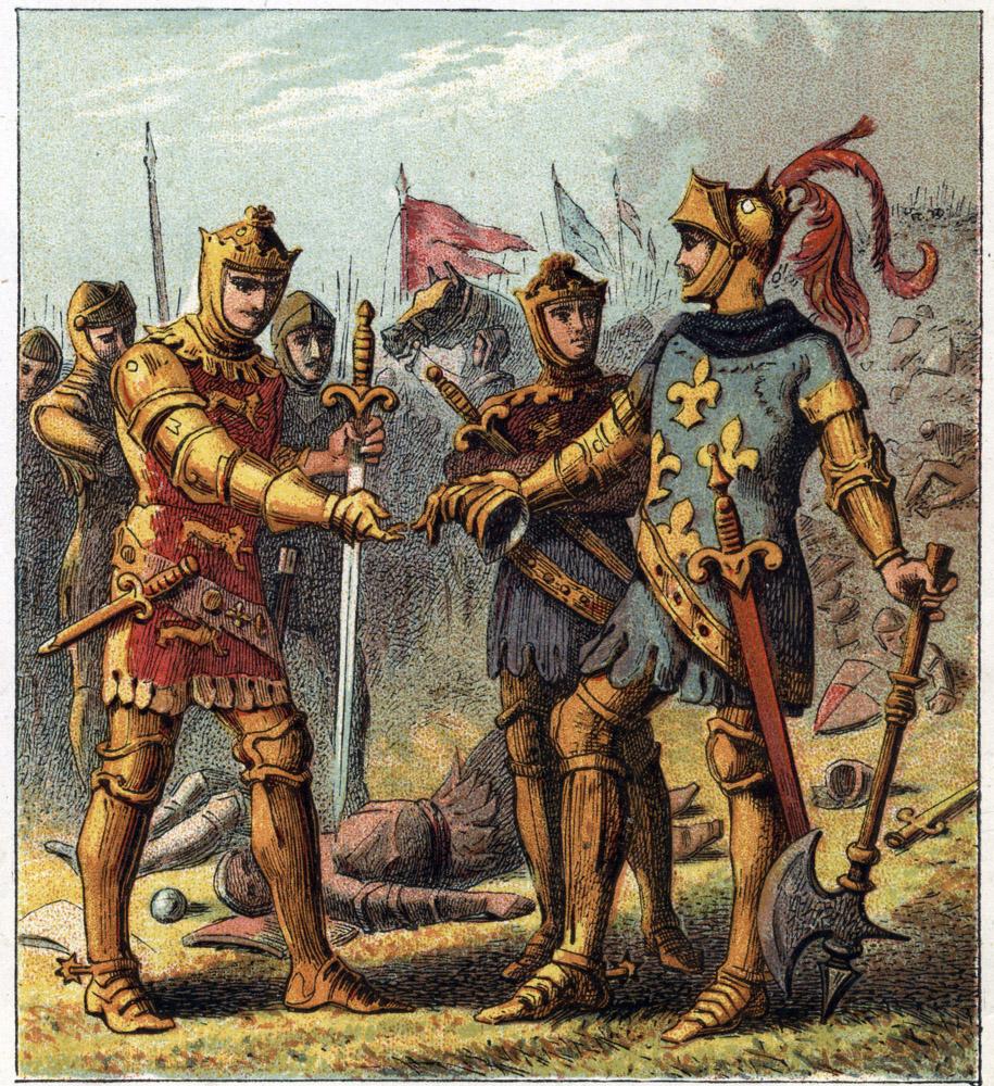 La Guerre de Cent ans (Histoire de France)