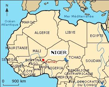 niger geographie