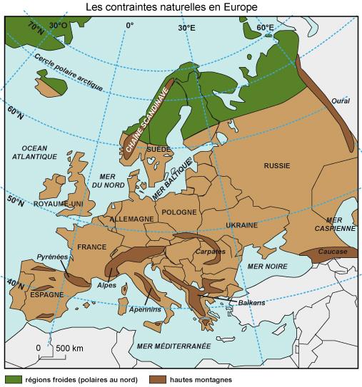 Grand Foyer De Peuplement En Europe : Cours de histoire géographie e le foyer peuplement