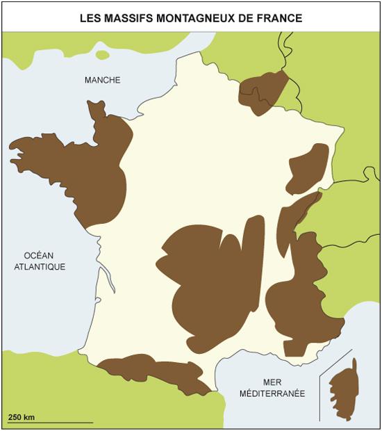 massifs français Archives - Voyages - Cartes