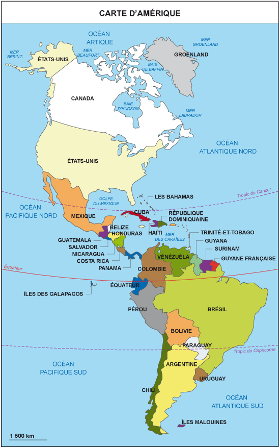amerique continent - Photo