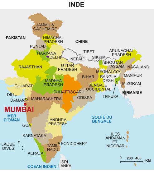 Cours de Histoire géographie   Mumbai, une grande métropole