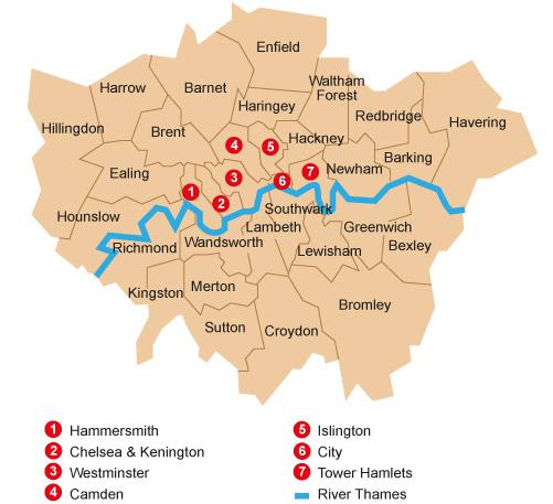 Cours de Histoire géographie   Londres, une ville mondiale