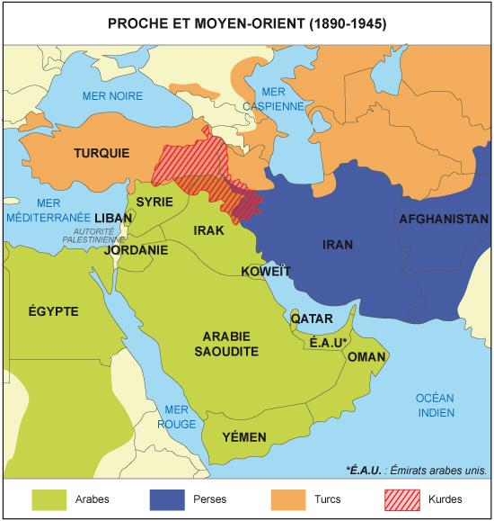 Carte Moyen Orient Palestine.Cours De Histoire Geographie Proche Orient Et Moyen Orient