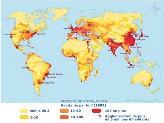 Cours De Histoire Geographie Des Cartes Pour Illustrer Le Monde