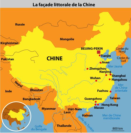 Cours de histoire g ographie terminales shanghai une for Les espaces verts en ville